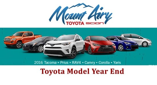 Mount Airy Toyota S Model Year End Clearance Mount Airy Toyota
