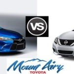 Mount Airy Camry vs Altima