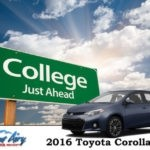 Mount Airy Toyota 2016 Graduation Gift