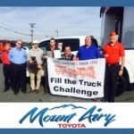 Mount Airy Fill the Truck Toys for Tots