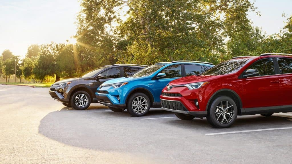 Popular Crossover Toyota Rav4 New Upgrades In Place For 2019