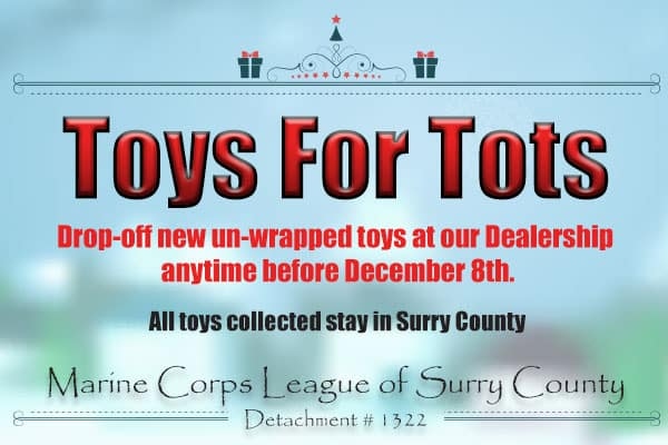 Mount Airy Toyota S Toys For Tots