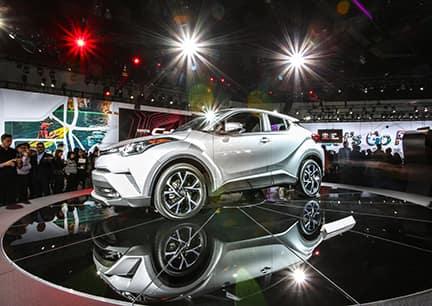 Toyota C-HR Unveiled at LA Auto Show