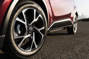 18' Toyota C-HR Vortex Wheels