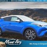 Mount Airy C-HR Blue Eclipse Metallic