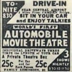 Camden Drive In Ad