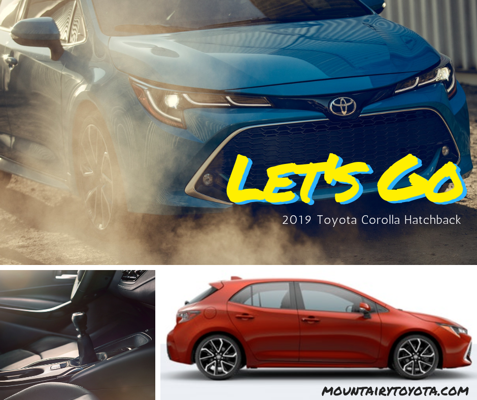 2019 Toyota Corolla Hatchback at Mount Airy Toyota