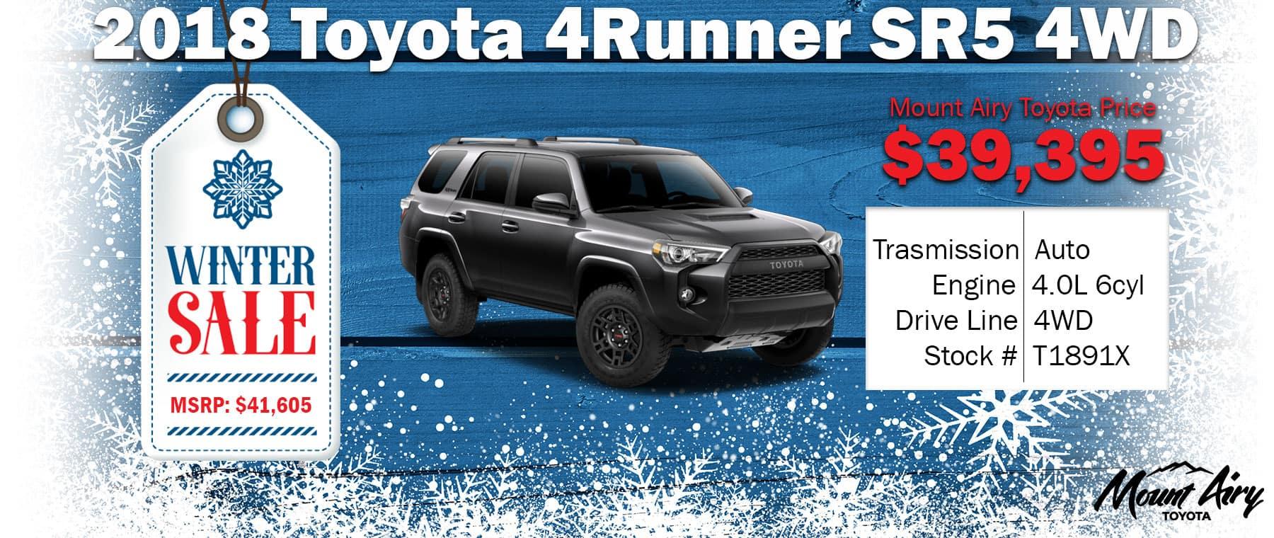 Best Toyota 4Runner in Mount Airy