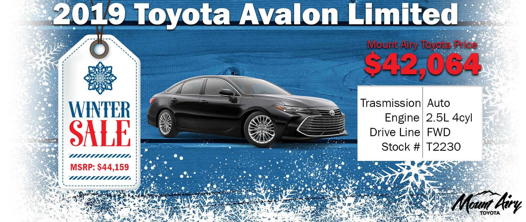 Best Toyota Avalon Mount Airy