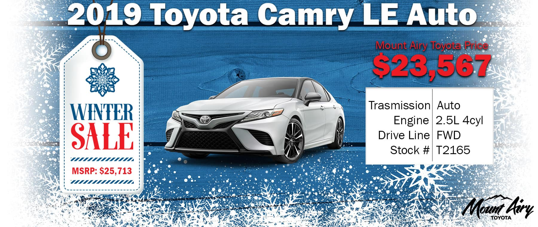 Best Toyota Camry Mount Airy