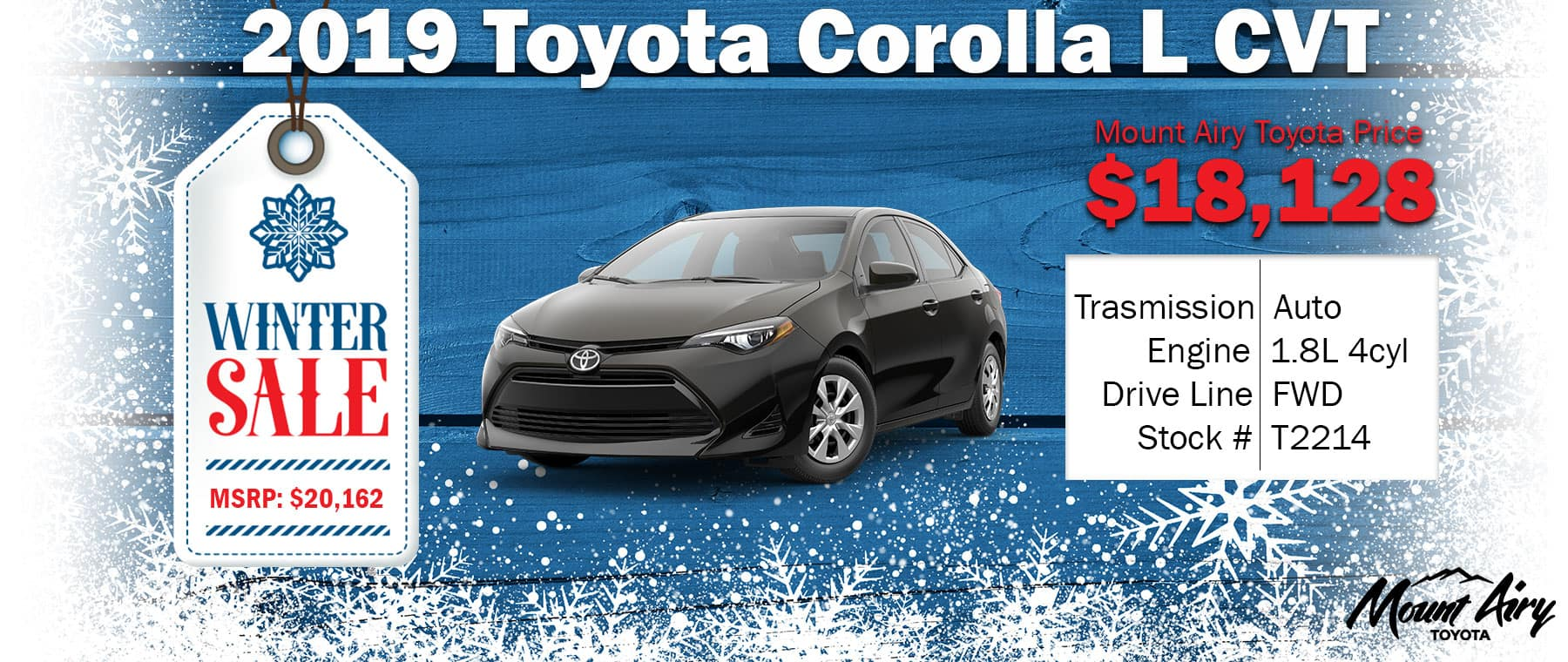 Best Toyota Corolla in Mount Airy