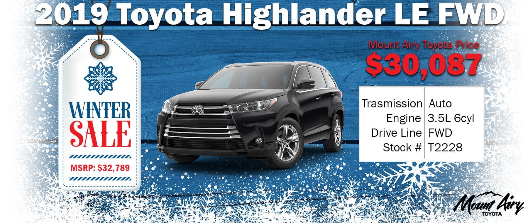 Best Toyota Highlander in Mount Airy