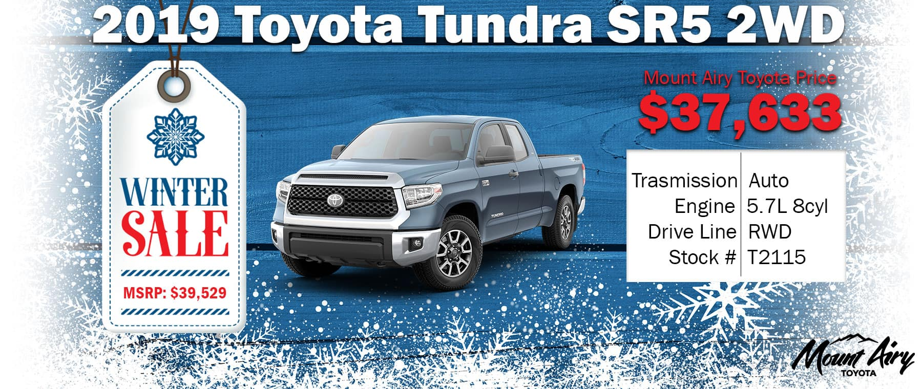 Best Toyota Tundra in Mount Airy