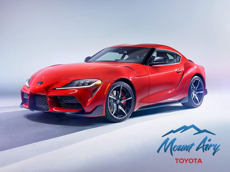 Red 2020 Toyota Supra Car Charlotte