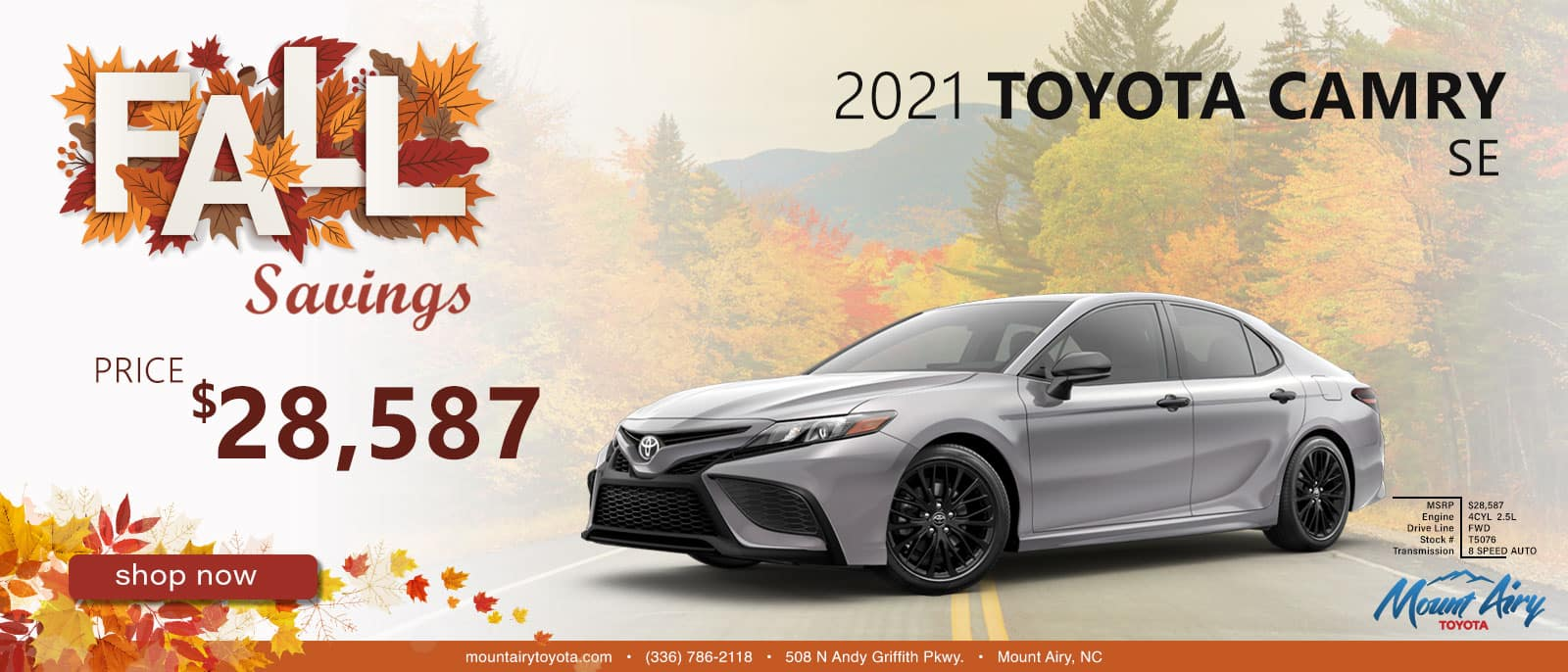 2021 Toyota Mount Airy, NC