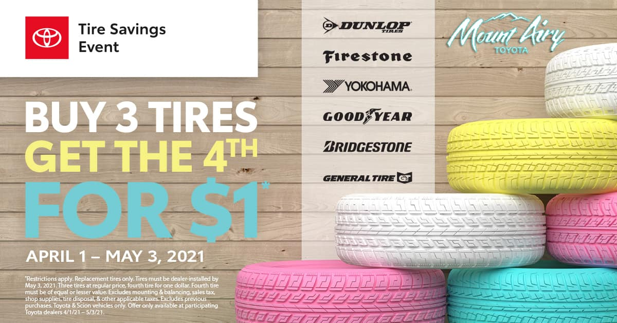 Easter Tire Special