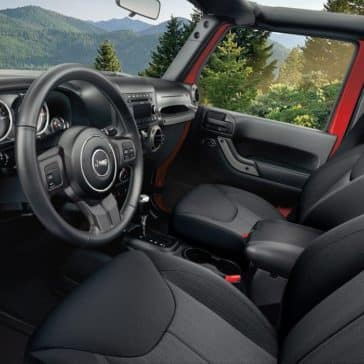 2017 Jeep Wrangler Interior Front Seating