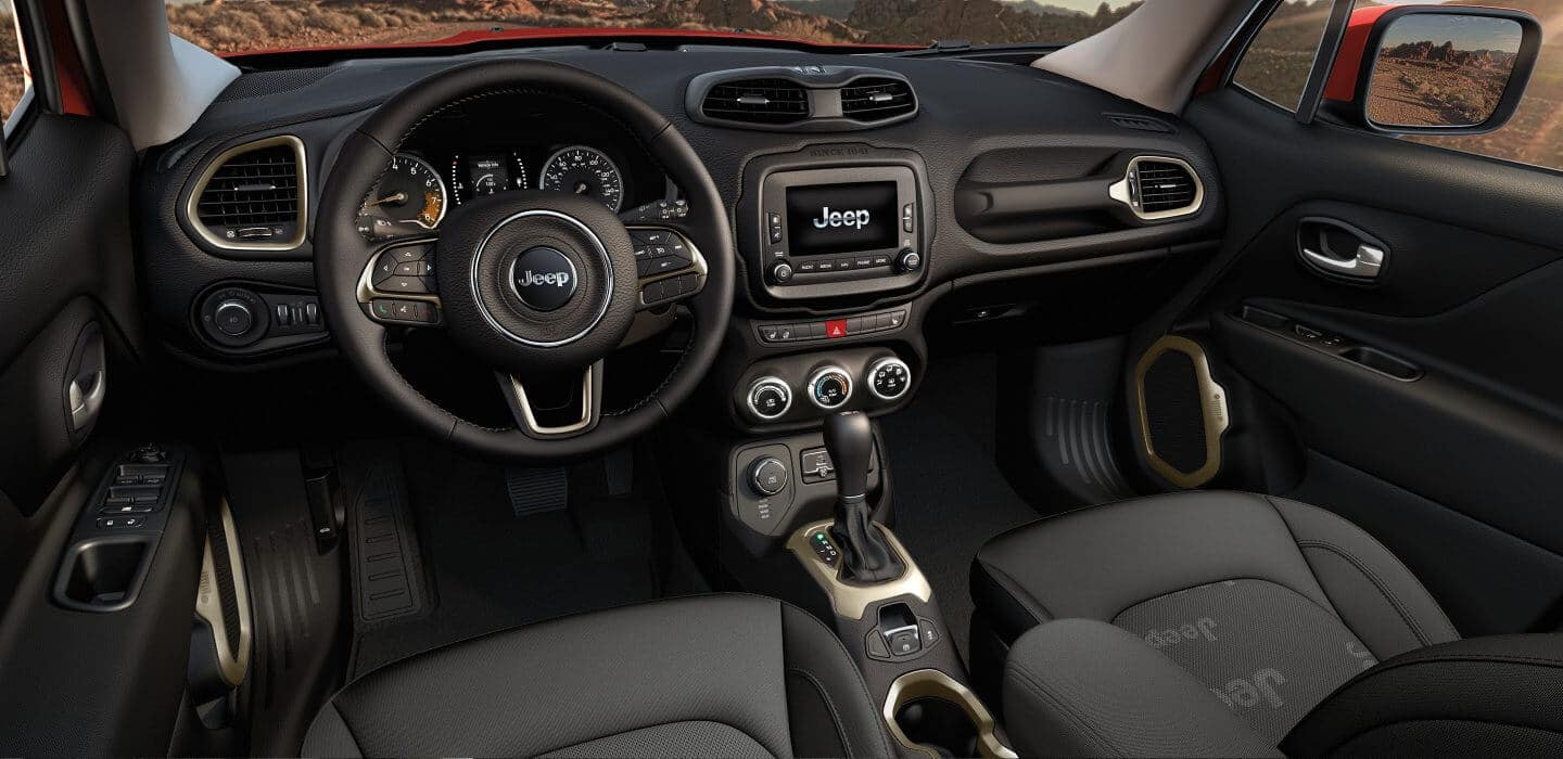 2017 Jeep Renegade Interior Dashboard Features