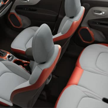 2017 Jeep Renegade Interior Seating