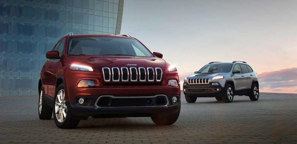 2018 Jeep Cherokee models