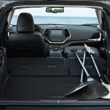 2018 Jeep Cherokee cargo space