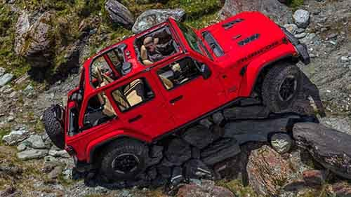 2018 Jeep Wrangler Rubicon off-roading