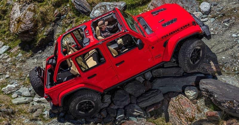 Jeep Wrangler Rubicon Off Roading