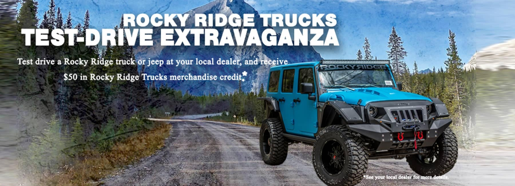 Rocky Ridge Trucks Test Drive Extravaganza