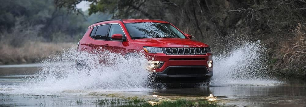 2018 Jeep Compass Off-Roading Through Water