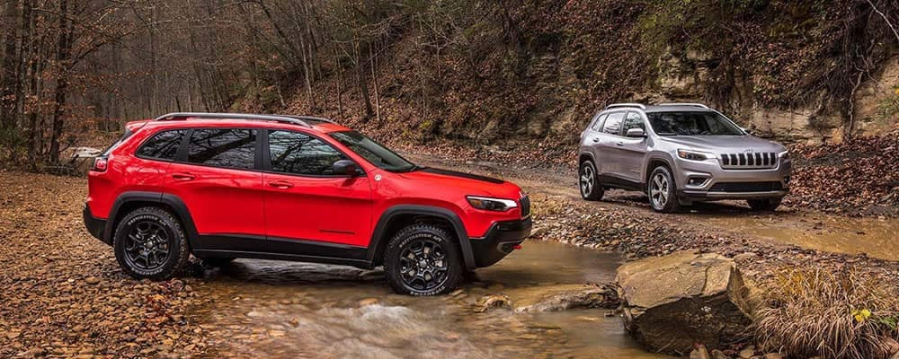 2019 Jeep Cherokee Models Off-Roading