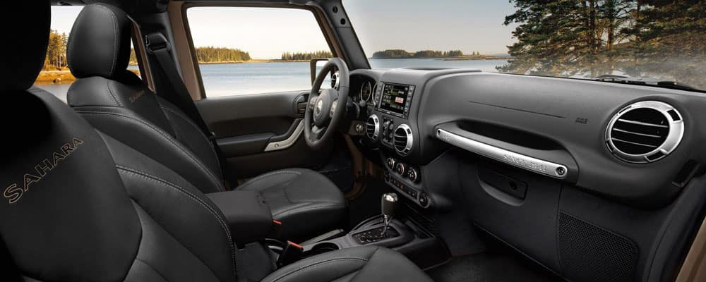 2018 Jeep Wrangler Interior Leather Trim