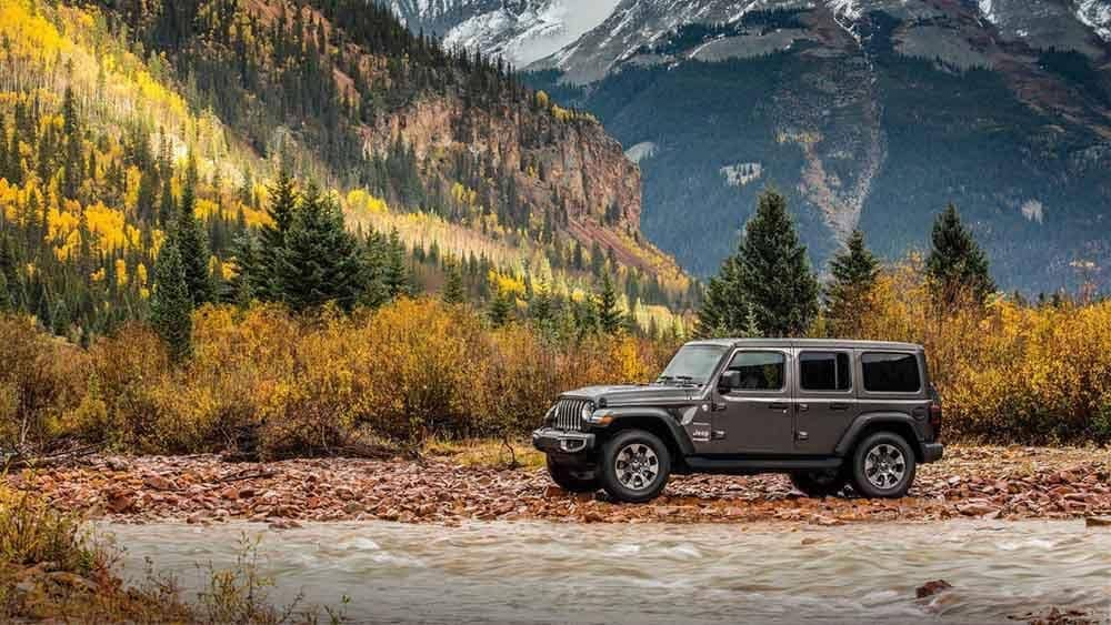 2018 Jeep Wrangler Exterior Parked at Mountains