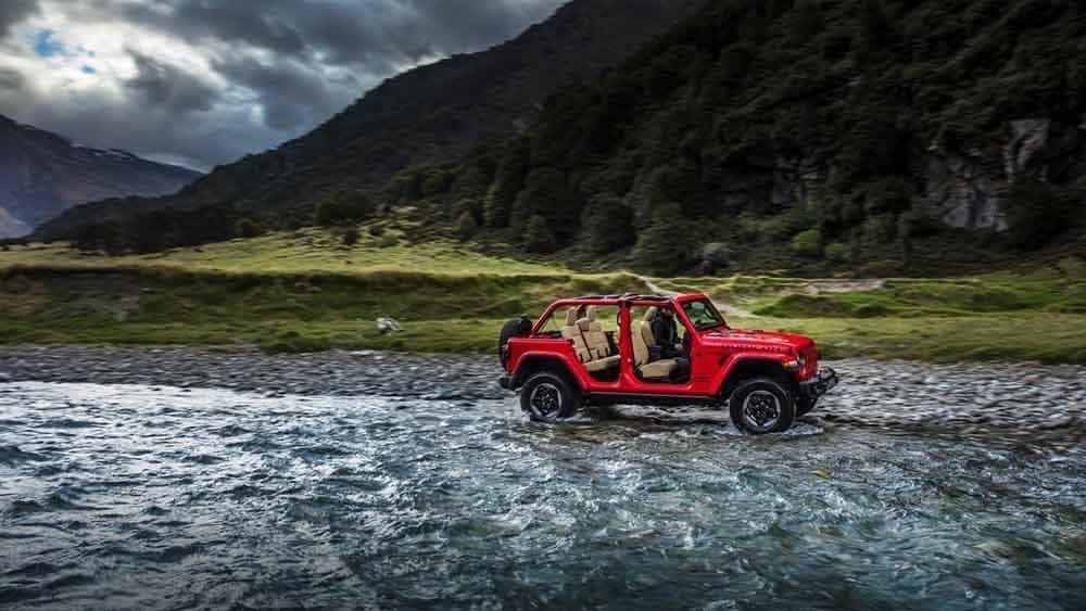 2018 Jeep Wrangler Off-Roading