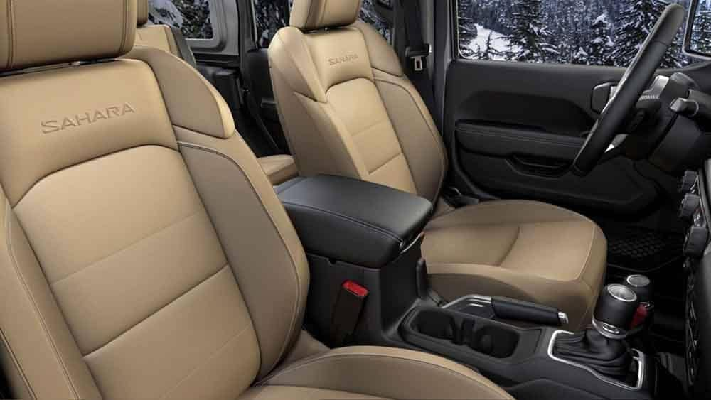 2018 Jeep Wrangler Interior Seating
