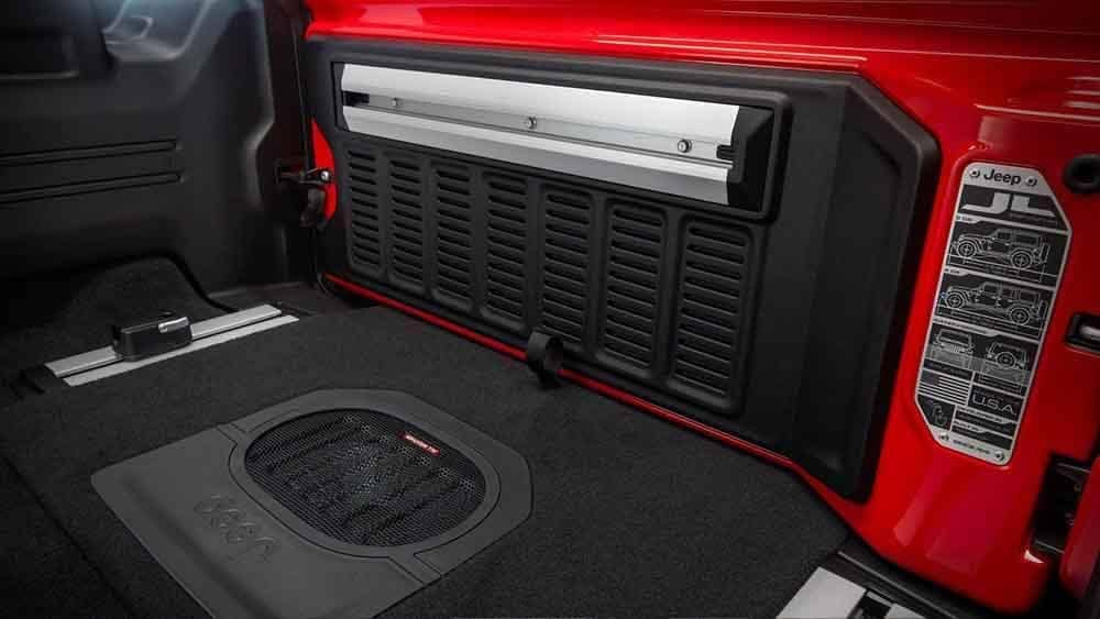 2018 Jeep Wrangler Interior Audio System