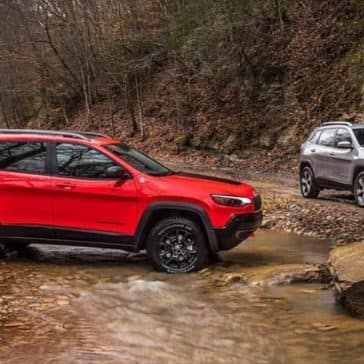 2019 Jeep Cherokee Models