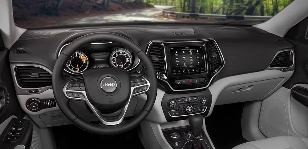 2019 Jeep Cherokee Interior Features