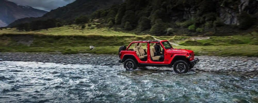 2018 Jeep Wrangler Rubicon with doors removed