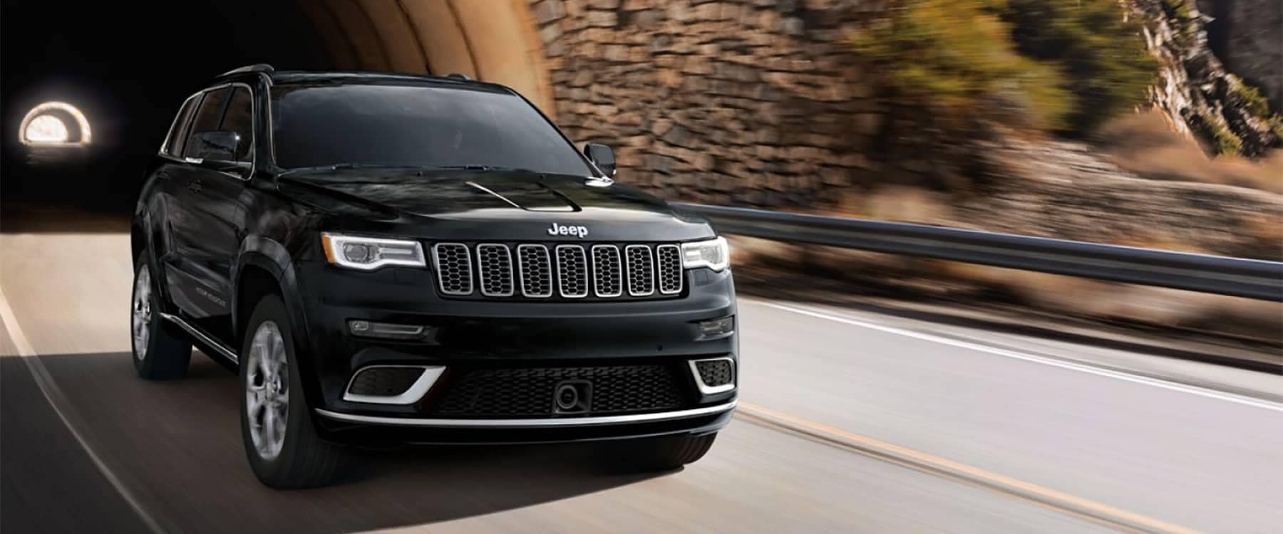 Jeep Grand Cherokee Driving