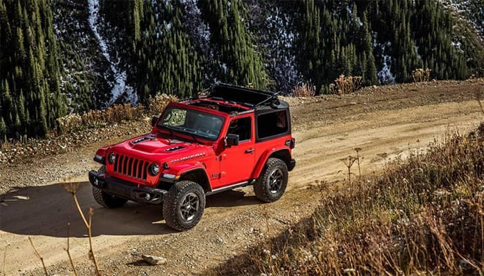 Jeep Wrangler Rubicon Off-Roading