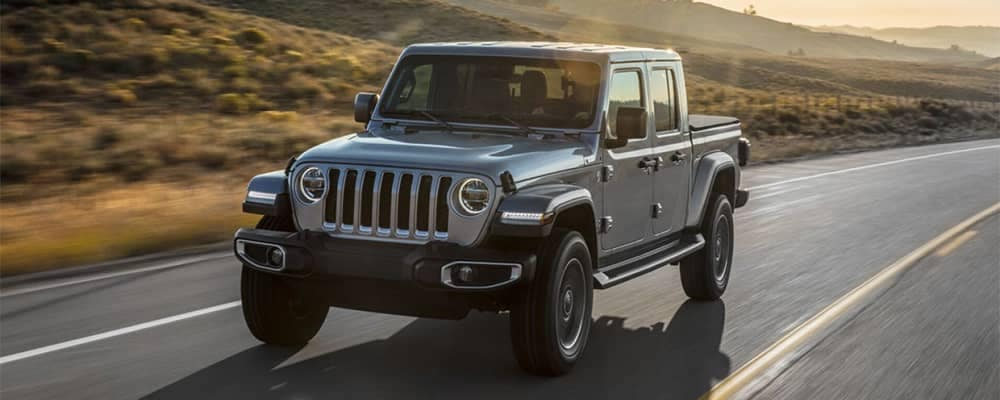 Jeep Gladiator Driving