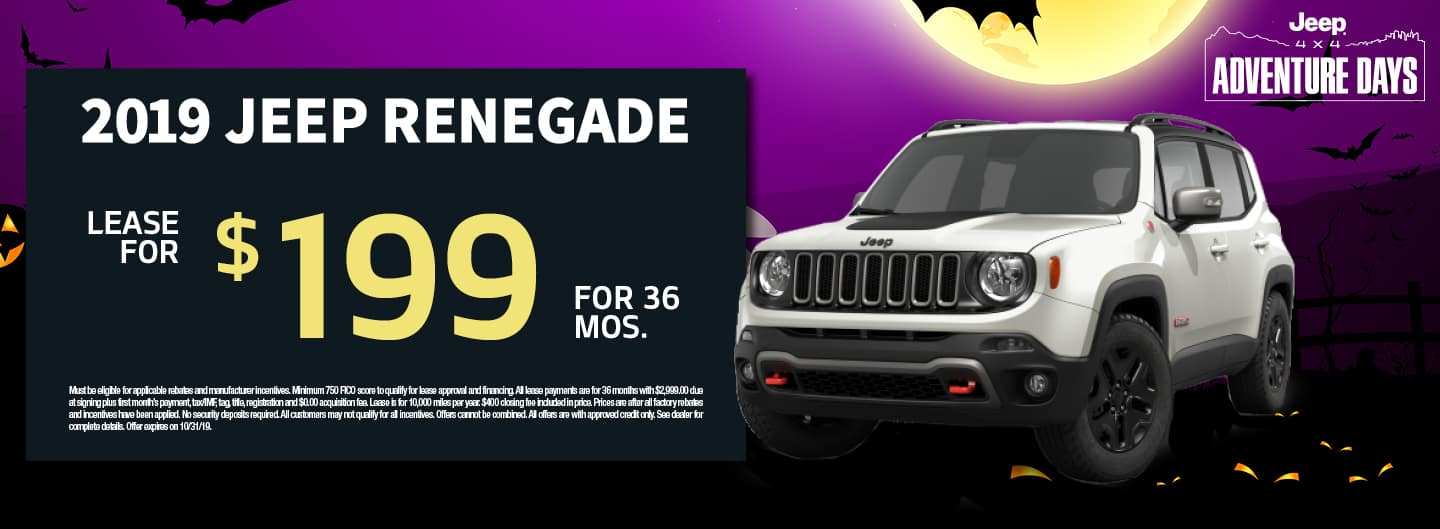 October Jeep Promo