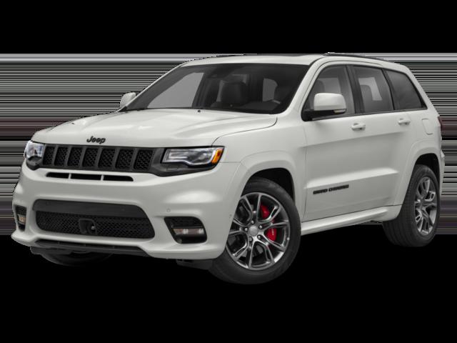 2019 White Jeep Grand Cherokee