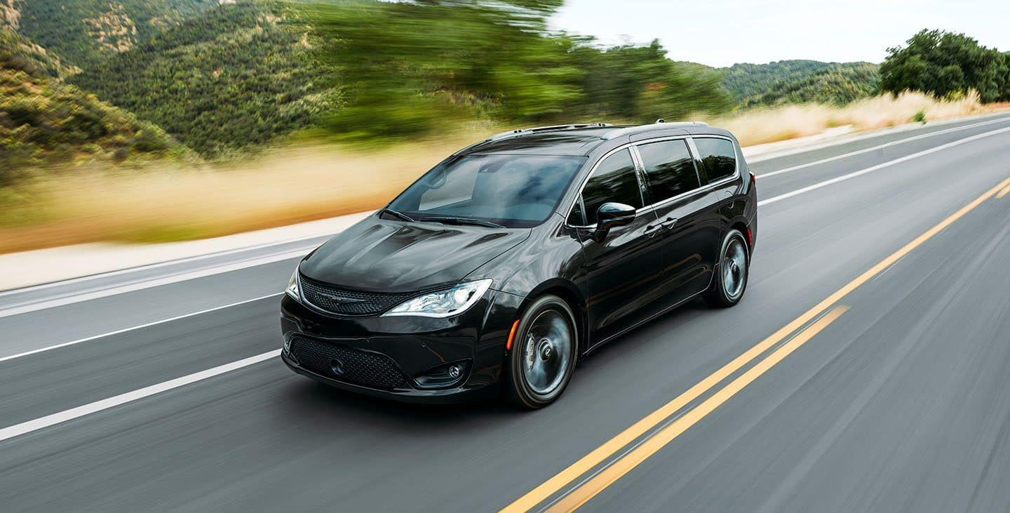 2020 Chrysler Pacifica Black Exterior
