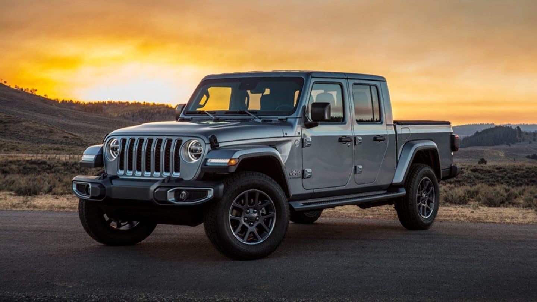 2020 Jeep Gladiator Grey Overland