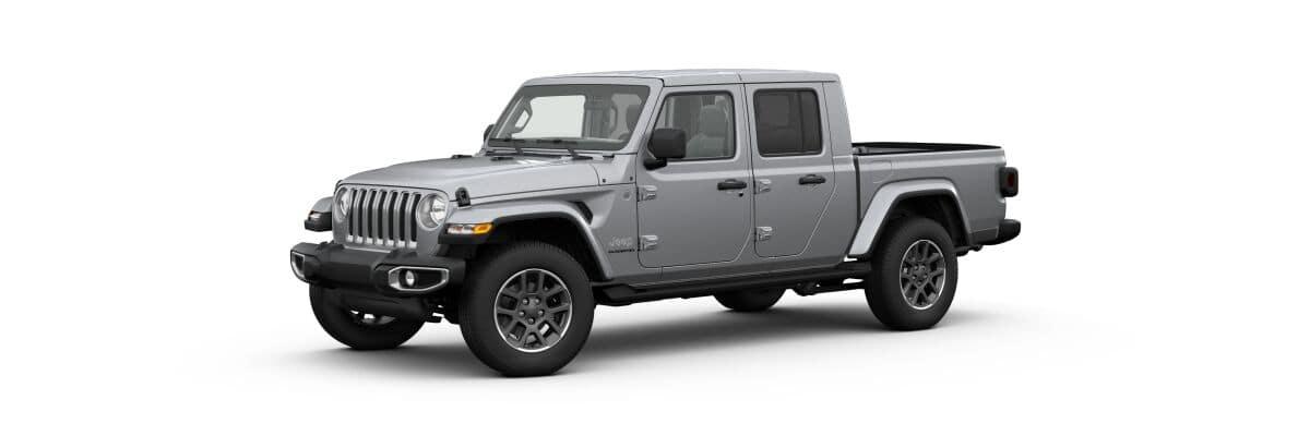 2020 Jeep Gladiator Overland, Grey Exterior