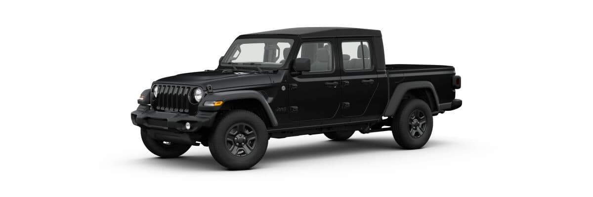2020 Jeep Gladiator Sport, Black Exterior