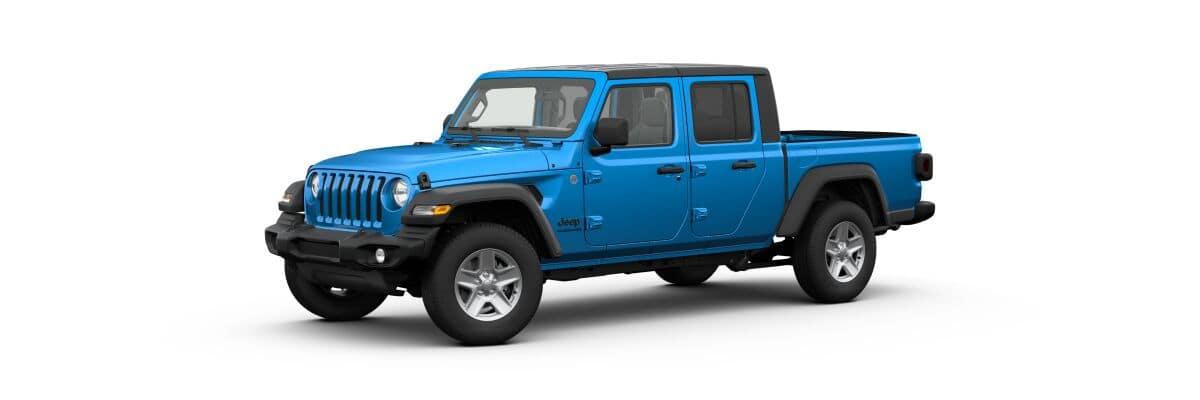 2020 Jeep Gladiator Sport S, Blue Exterior