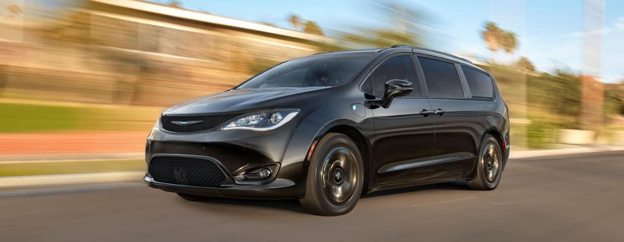 2020 Chrysler Pacifica, Black Exterior