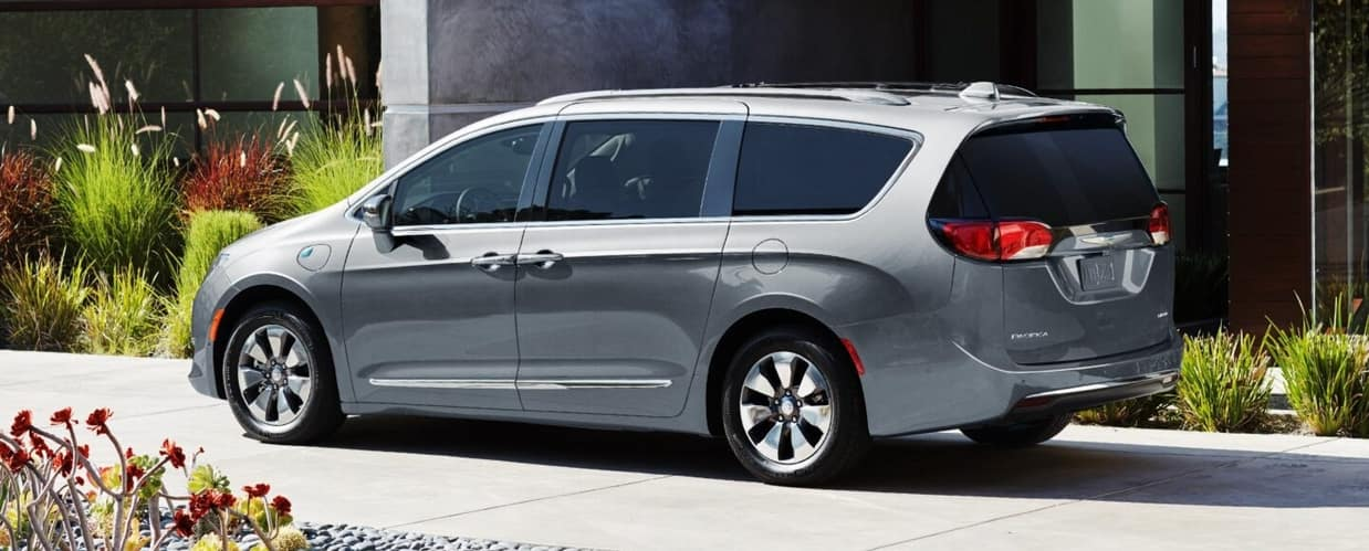 2020 Chrysler Pacifica, Silver Exterior
